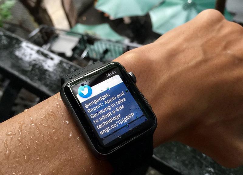 Apple Watch Edition 42mm - Chống nước hiệu quả