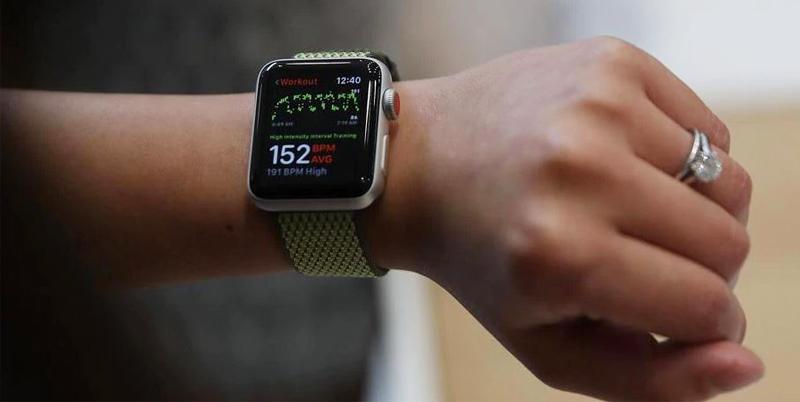 Đồng hồ Apple Watch 3 có gắn SIM - Chăm sóc, giám sát sức khỏe của bạn