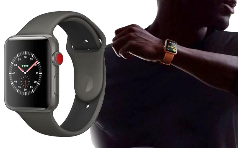 Đồng hồ Apple Watch 3 có gắn SIM - Apple Watch Series 3 có kích thước tương tự như Apple Watch Series 2