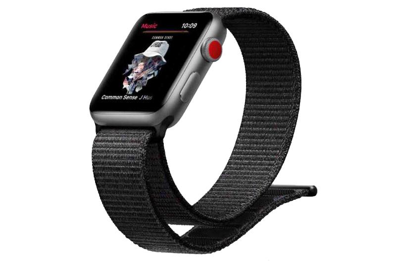 Đồng hồ Apple Watch 3 có gắn SIM - Sử dụng Apple Music cho phép chứa hơn 40 triệu bài hát