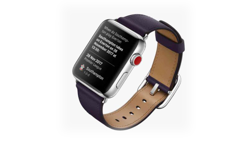 Đồng hồ Apple Watch 3 có gắn SIM - Trợ lý ảo Siri
