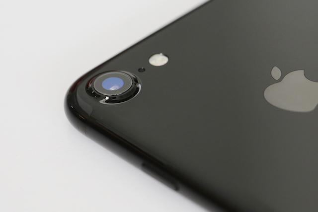 Cụm camera phía sau của điện thoại iPhone 7