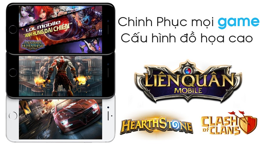 Khả năng chơi game của điện thoại iPhone 7 Plus