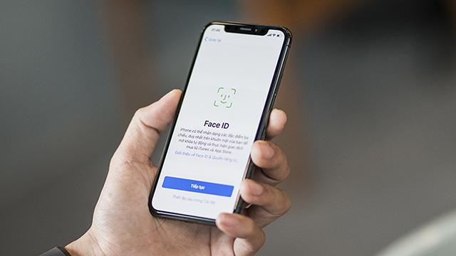 Điện thoại iPhone X tích hợp Face ID